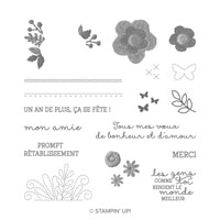 De Fil En Aiguille Photopolymer Stamp Set (French)
