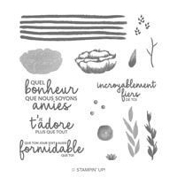 Incroyable Comme Toi Photopolymer Stamp Set (French)