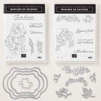 Mariage De Saisons Clear-Mount Bundle (French)
