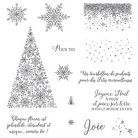 Neige Scintillante Photopolymer Stamp Set