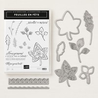 Feuilles En Fêtes Photopolymer Bundle (French)