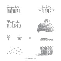Bonjour Sucré Photopolymer Stamp Set (French)