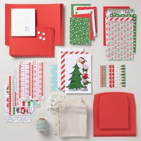 Santa's Workshop Cards Supplies Set