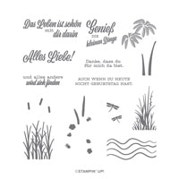 Alles Liebe! Photopolymer Stamp Set (German)