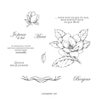 Magnolia Du Matin Cling Stamp Set (French)