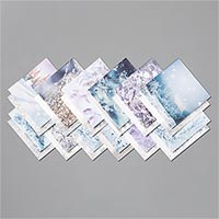 "Feels Like Frost Specialty 6"" X 6"" (15.2 X 15.2 Cm) Designer Series Paper"