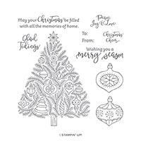 Memories Of Home Cling Stamp Set