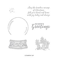 Still Scenes Cling Stamp Set
