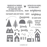 From Our House To Yours Photopolymer Stamp Set