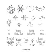 To Every Season Photopolymer Stamp Set (En)