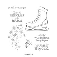 Free Skate Cling Stamp Set