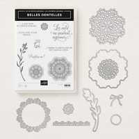 Belles Dentelles Cling Bundle (French)