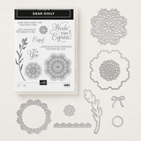 Dear Doily Cling Bundle