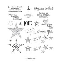 Tant D'Étoiles Photopolymer Stamp Set (Fr)