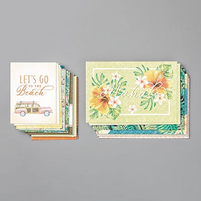 Tropical Oasis Memories & More Card Pack