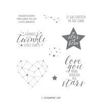 Little Twinkle Cling-Mount Stamp Set