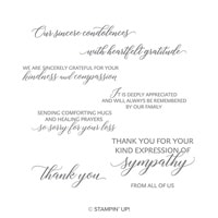 Kindness & Compassion Cling-Mount Stamp Set
