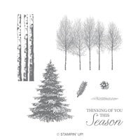Winter Woods Cling-Mount Stamp Set