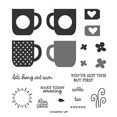 Rise & Shine Photopolymer Stamp Set (English)
