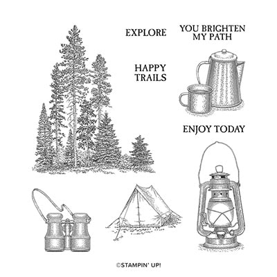 Campology Cling Stamp Set