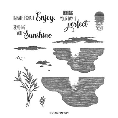 Sending Sunshine Photopolymer Stamp Set (English)