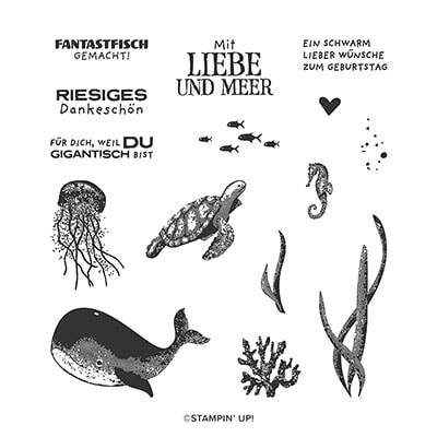Fantastfisch Photopolymer Stamp Set (De)