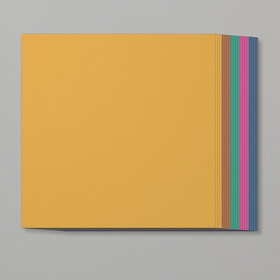 "2020–2022 In Color 12"" X 12"" (30.5 X 30.5 Cm) Cardstock Assortment"
