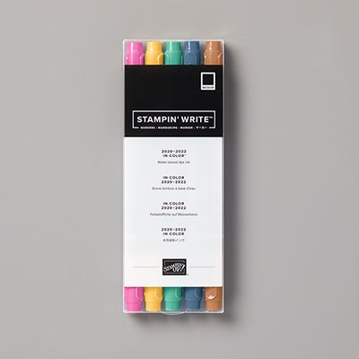2020–2022 In Color Stampin' Write Marker Assortment