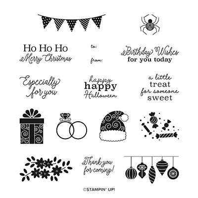 Little Treats Cling Stamp Set