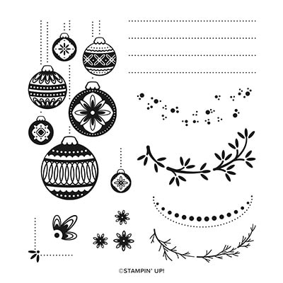 Ornamental Envelopes Photopolymer Stamp Set