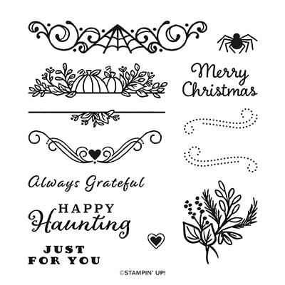 Celebration Tidings Photopolymer Stamp Set (English)