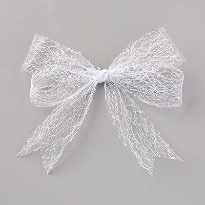 Metallic Mesh Ribbon