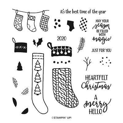 A Merry Hello Host Photopolymer Stamp Set