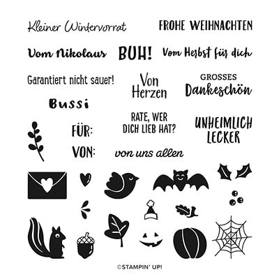 Fähnchen Vielfalt Photopolymer Stamp Set (German)