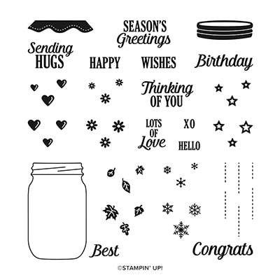 Lots To Celebrate Photopolymer Stamp Set