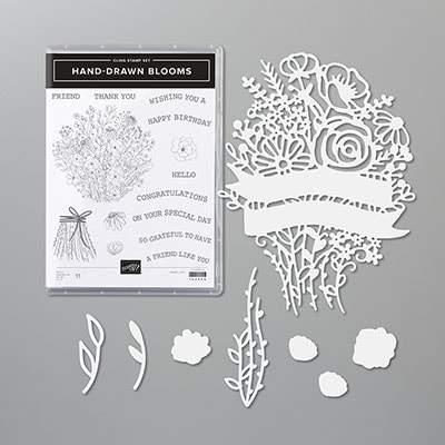 Hand-Drawn Blooms Bundle (English)