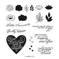 Always In My Heart Photopolymer Stamp Set