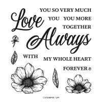 Forever & Always Photopolymer Stamp Set
