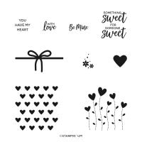 Valentine Keepsakes Cling Stamp Set