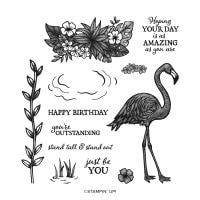 Friendly Flamingo Photopolymer Stamp Set