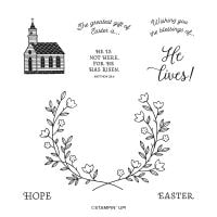 Gift Of Hope Cling Stamp Set