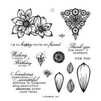 Delicate Petals Photopolymer Stamp Set