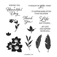 Tranquil Thoughts Cling Stamp Set