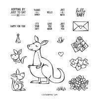 Kangaroo & Company Photopolymer Stamp Set