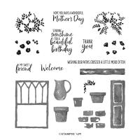 Welcoming Window Photopolymer Stamp Set