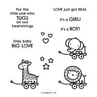 Baby Pull Toys Cling Stamp Set