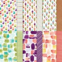 Ice Cream Corner Designer Series Paper