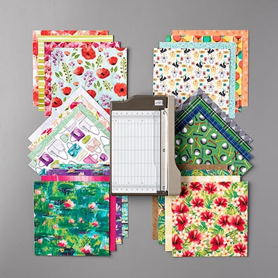Sale-A-Bration Mini Paper Cutter & Paper Sampler