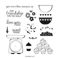 Measure Of Love Photopolymer Stamp Set (English)