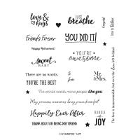 Many Happenings Cling Stamp Set